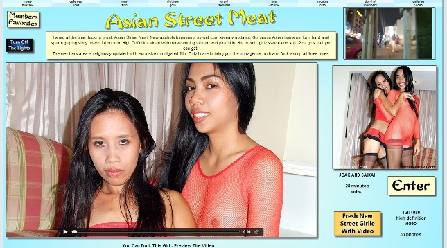 AsianStreetMeat SiteRip – 91 Videos 23.5 GB
