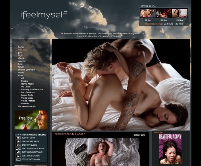 IFeelMySelf SiteRip – 192 Videos 73 GB